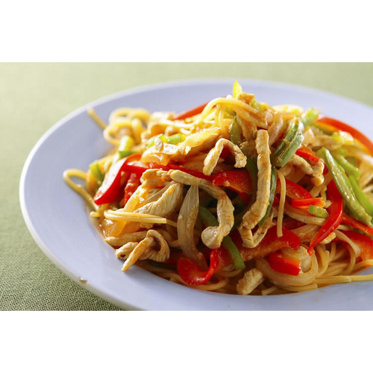 食譜:香辣泰式雞肉麵(1)