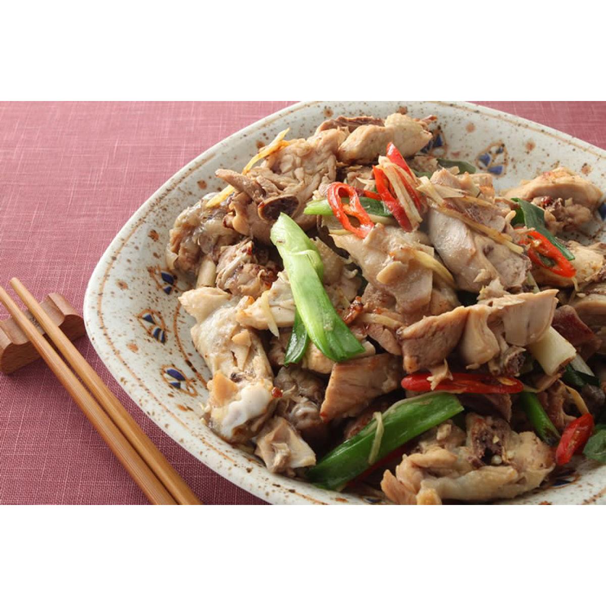 食譜:乾煸椒鹽雞