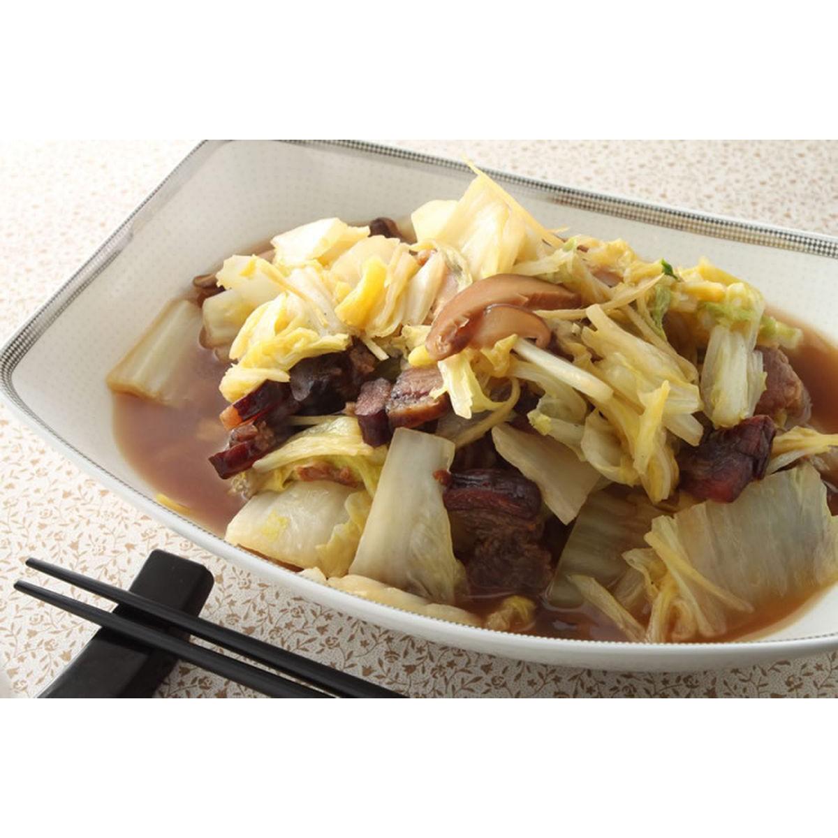 食譜:臘肉燉白菜