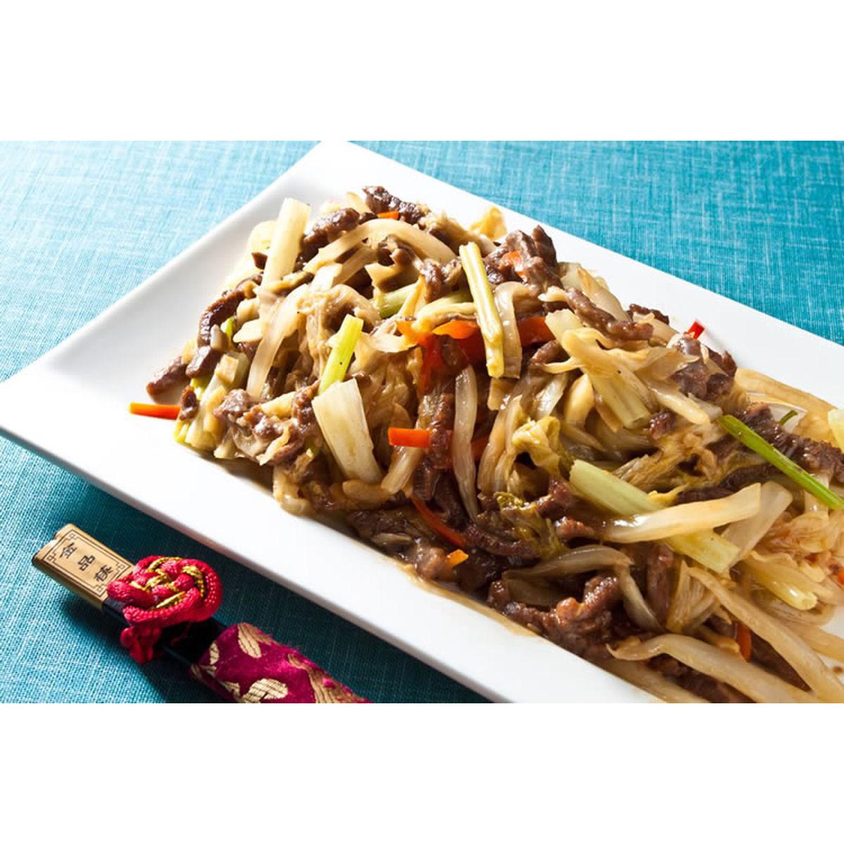 食譜:酸白菜炒牛肉