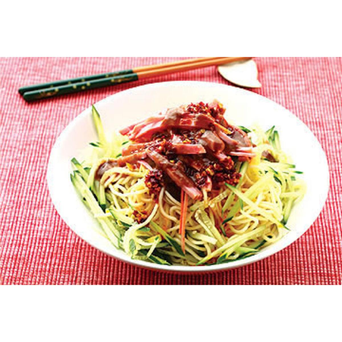 食譜:中華涼麵