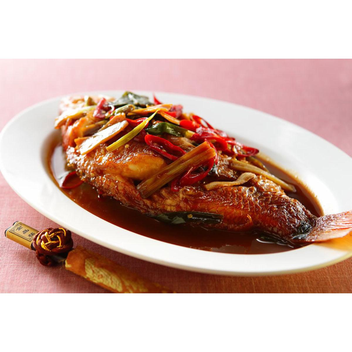 食譜:紅燒魚(6)