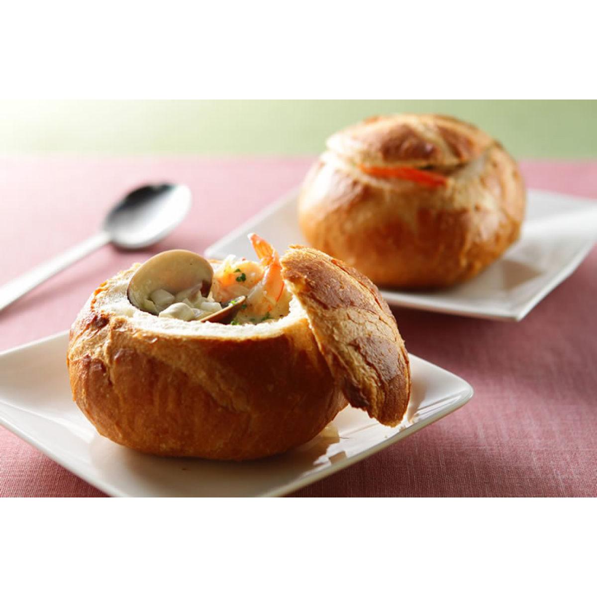 食譜:巧達海鮮麵包湯(1)