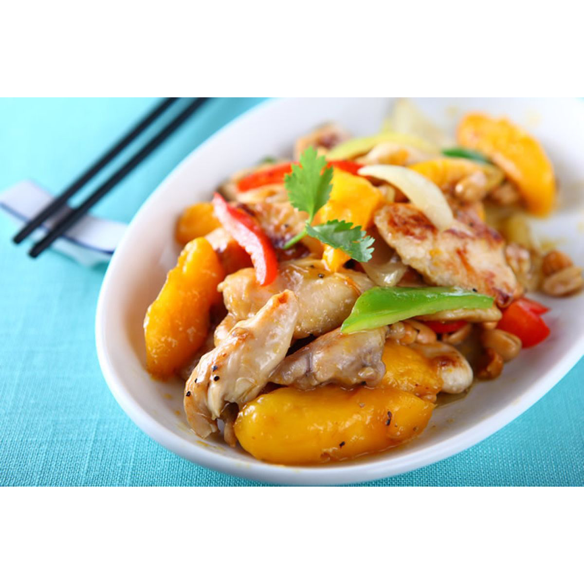 食譜:芒果雞柳