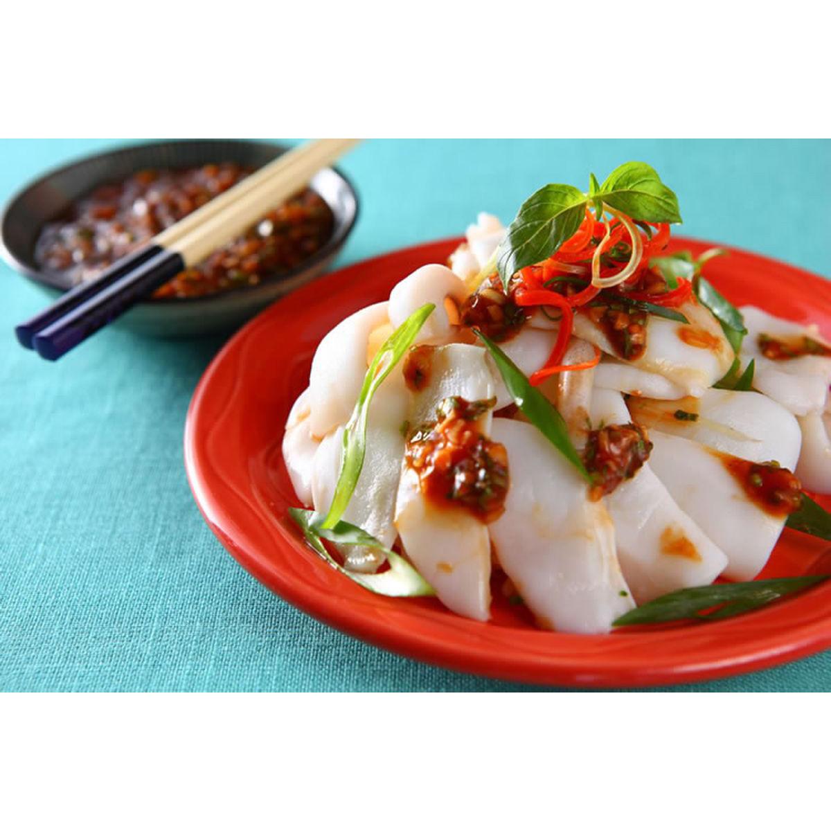 食譜:五味醬花枝(1)
