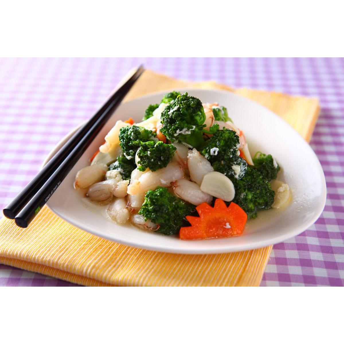 食譜:蟹肉花菜(1)