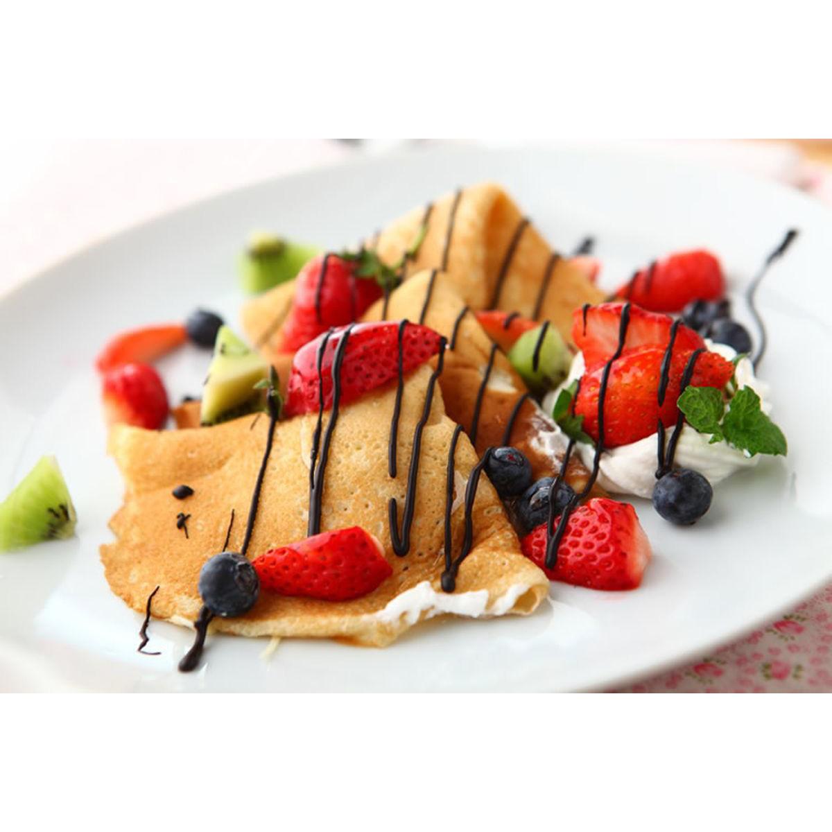 食譜:草莓可麗餅