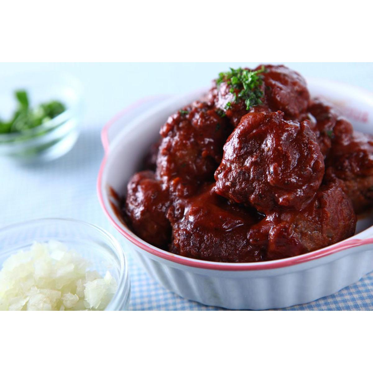 食譜:紅酒燉牛肉丸(1)