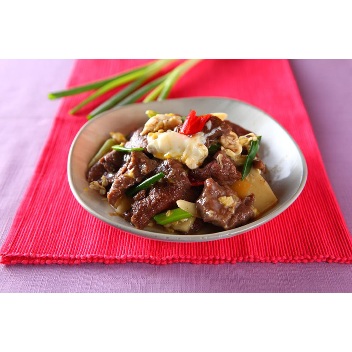 食譜:滑蛋牛肉(3)