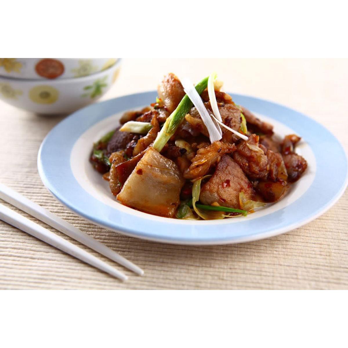食譜:回鍋肉(9)