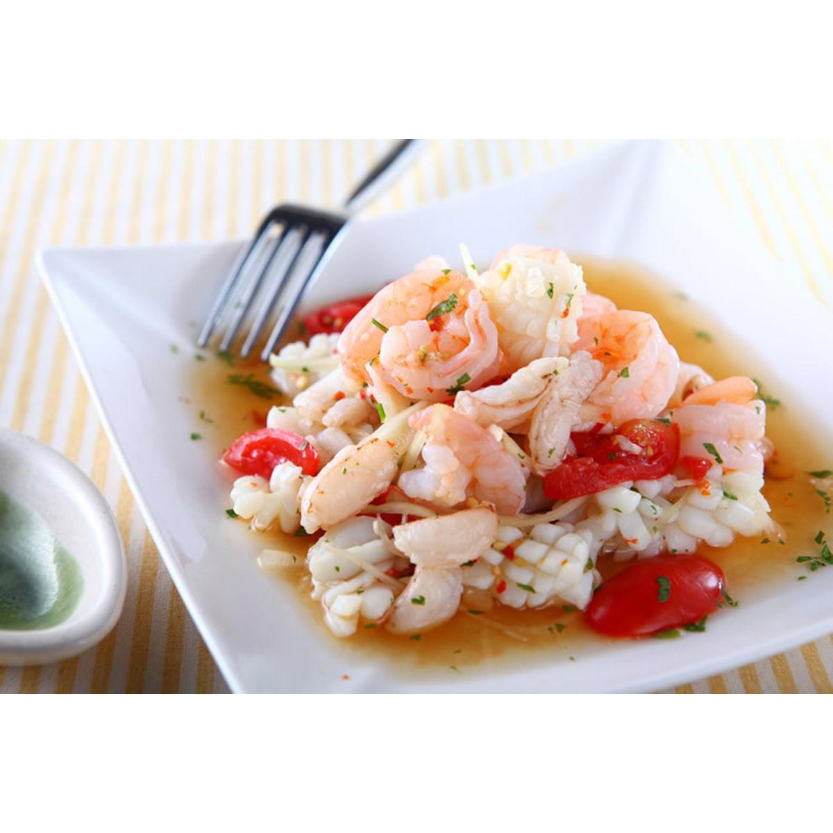 食譜:泰式涼拌海鮮(2)