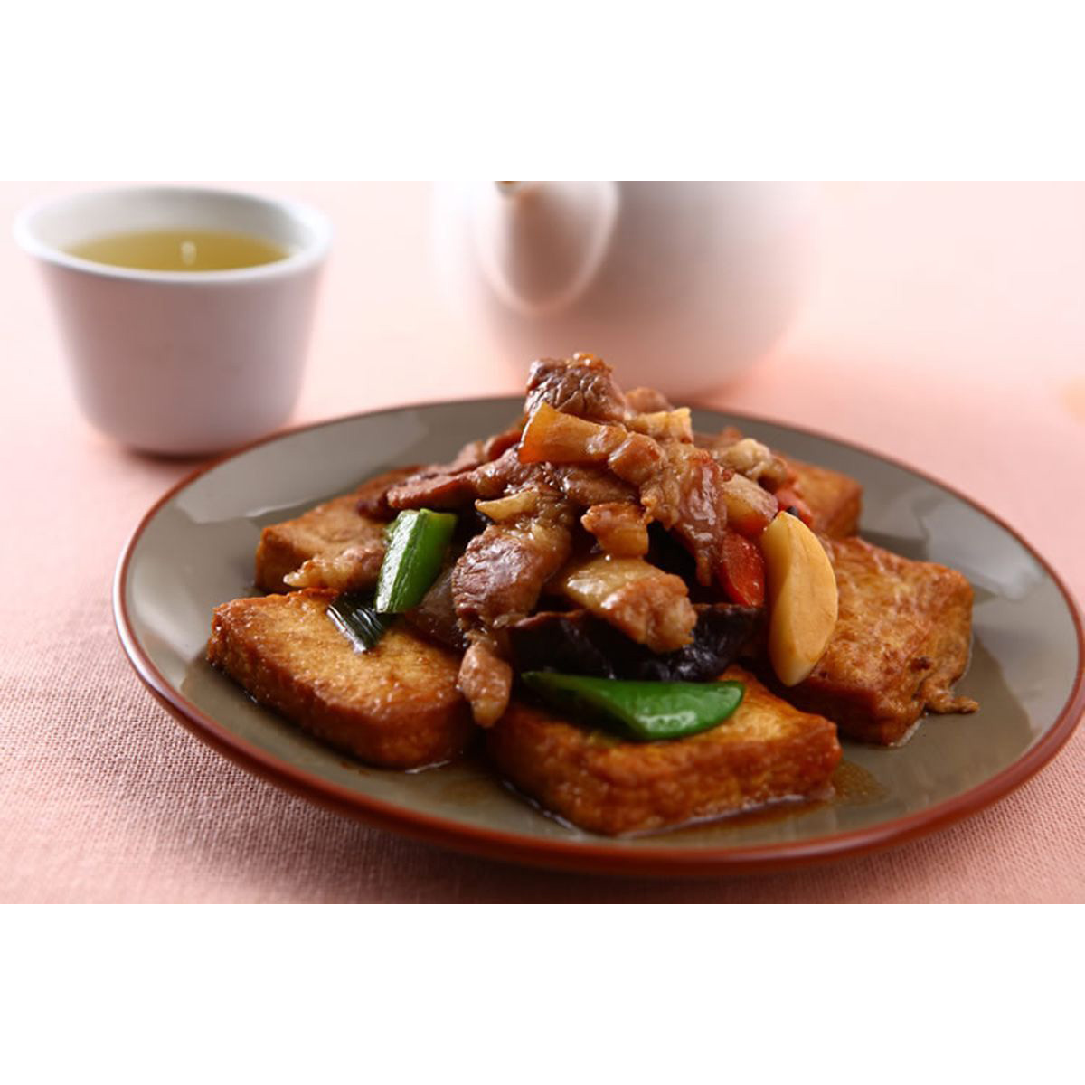 食譜:紅燒豆腐(6)