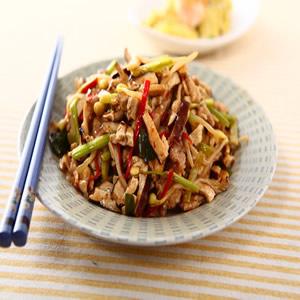 豆乾炒肉絲(1)