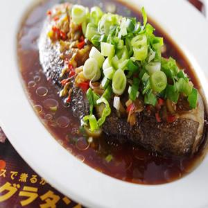 花瓜蒸鱈魚