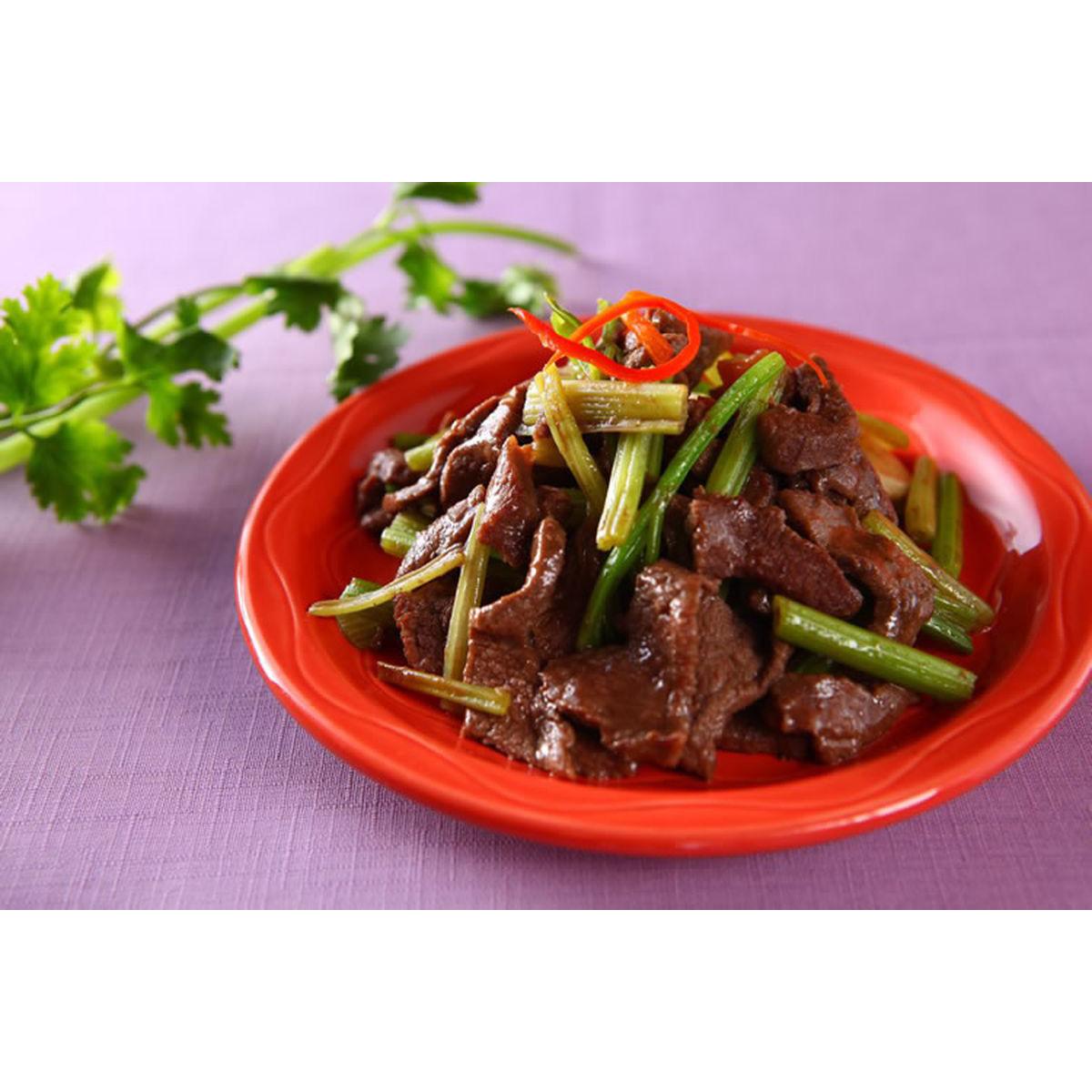 食譜:芹菜炒牛肉