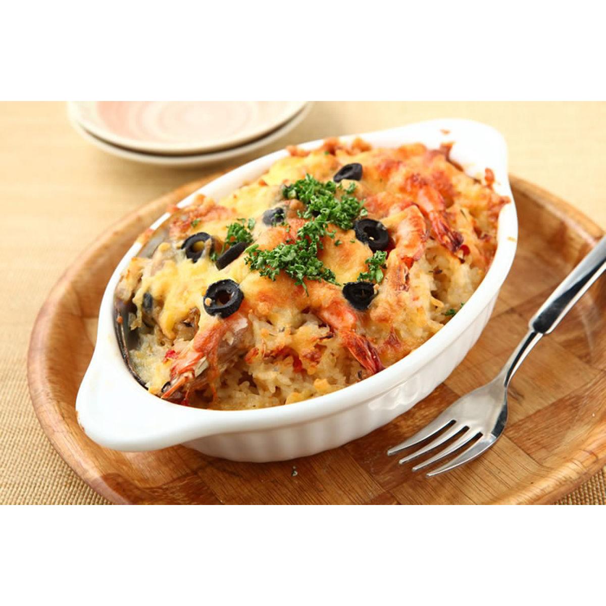食譜:西西里海鮮焗飯(1)