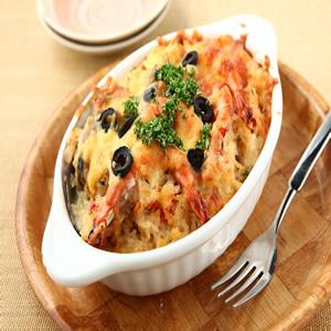 西西里海鮮焗飯(1)