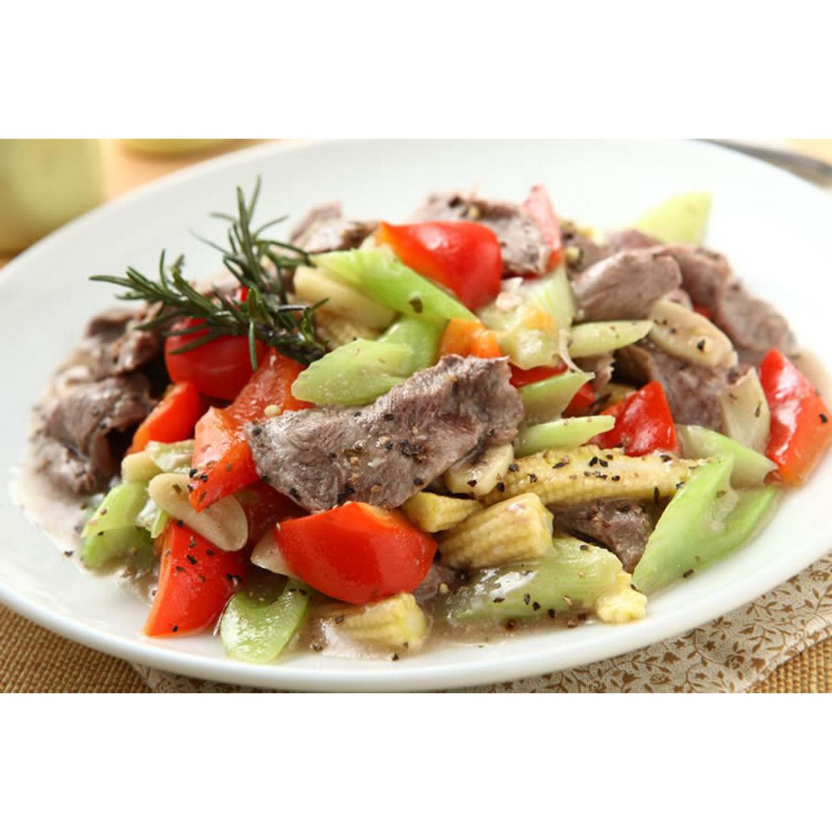 食譜:西芹炒牛肉