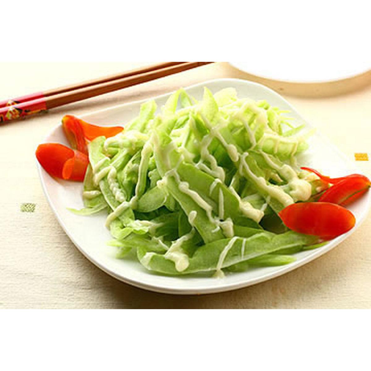 食譜:沙拉苦瓜(1)