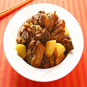 泰式咖哩雞(1)