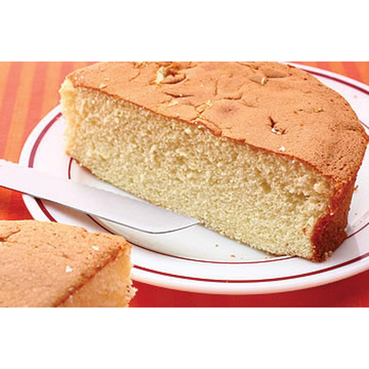 食譜:香草海綿蛋糕(1)
