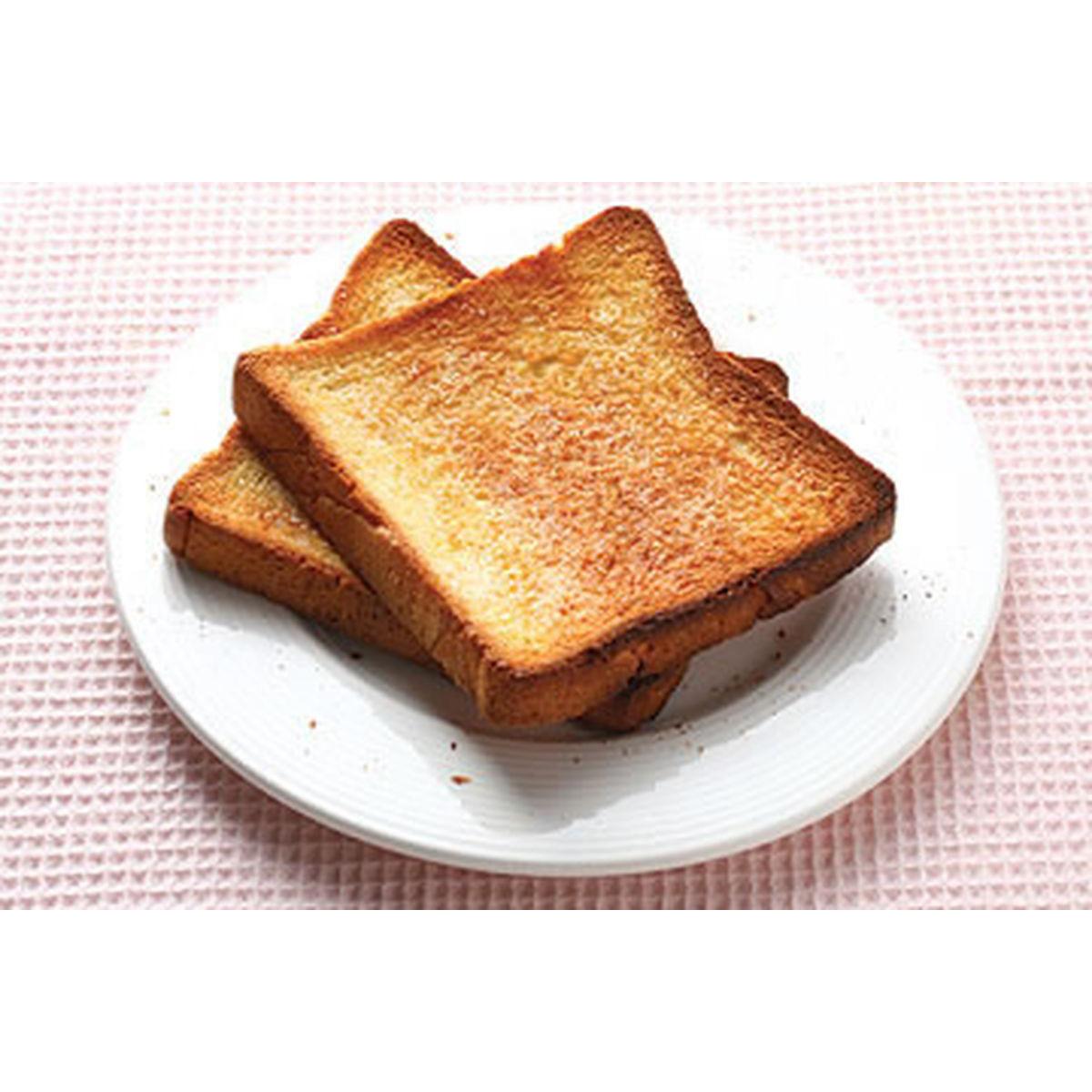 食譜:超簡便早餐-糖片土司