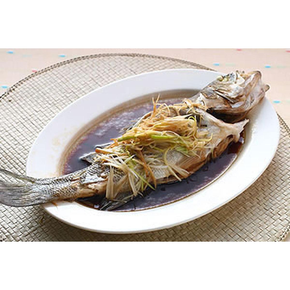 食譜:不用蒸籠的蒸魚