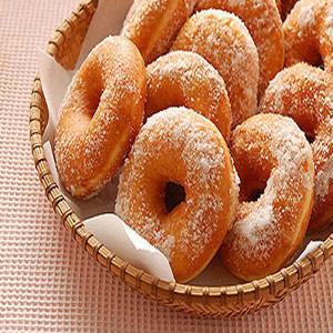 金黃Q綿的甜甜圈