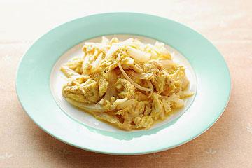 食譜:洋蔥炒蛋(1)