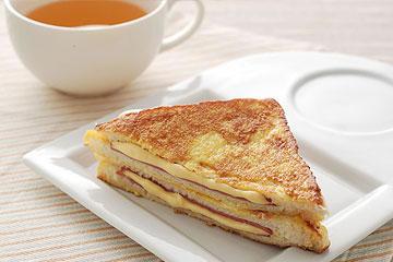食譜:法式起司火腿三明治