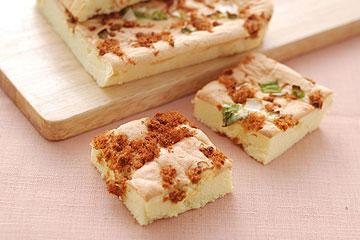 食譜:肉鬆蔥花鹹蛋糕