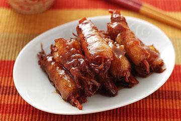 食譜:胡蘿蔔燒肉捲