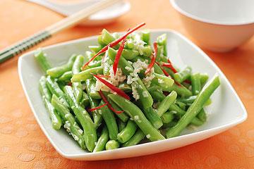 食譜:涼拌四季豆(3)