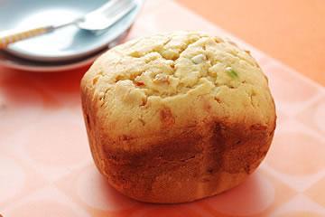 食譜:重奶油水果蛋糕(麵包機)