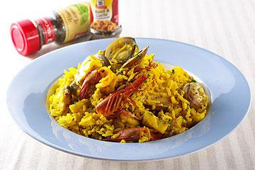 食譜:西班牙海鮮燉飯(1)