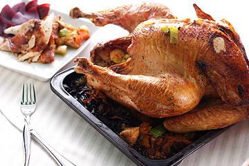 食譜:感恩節烤火雞