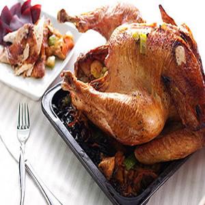 感恩節烤火雞