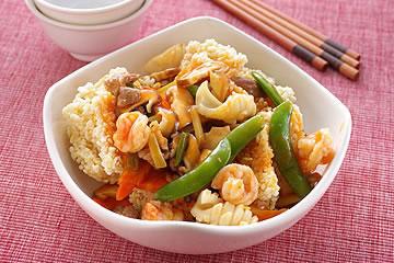 食譜:三鮮燴鍋巴