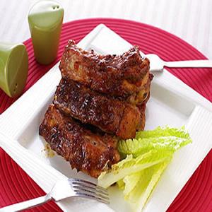 BBQ烤豬肋排