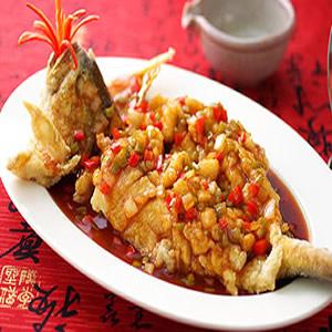 糖醋松鼠黃魚
