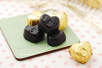 食譜:內餡香濃的 情人節巧克力