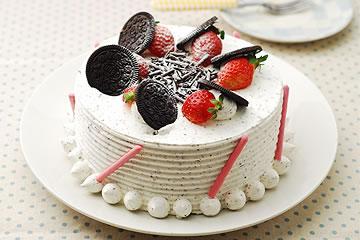 食譜:草莓巧克力蛋糕