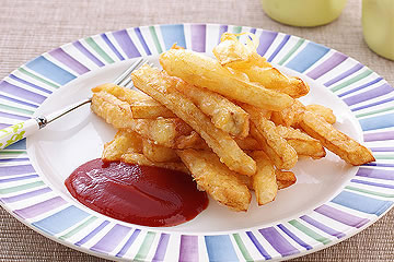 食譜:炸好吃薯條的秘訣