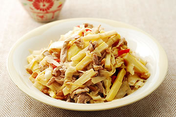 食譜:桂竹筍炒肉絲