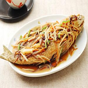 正台灣味的五柳魚