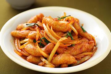 食譜:韓式辣炒甜不辣