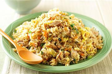 食譜:胃口大開的鮪魚炒飯