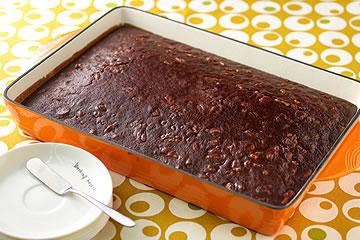 食譜:不加蛋的 布朗尼蛋糕