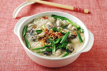 食譜:蚵仔長壽白麵線