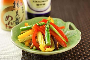 食譜:野炒鮮時蔬